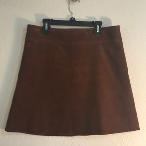 J. Crew size 4 Corduroy Brown Skirt